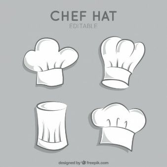 Cozinha chap us de chef chap us e molde for Material para chef