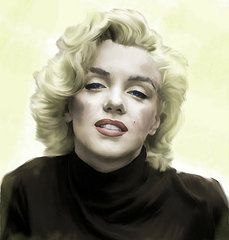 Love, Marilyn - Art - Faded Dream Marilyn Monroe  by Iconic Images Art Gallery David Pucciarelli