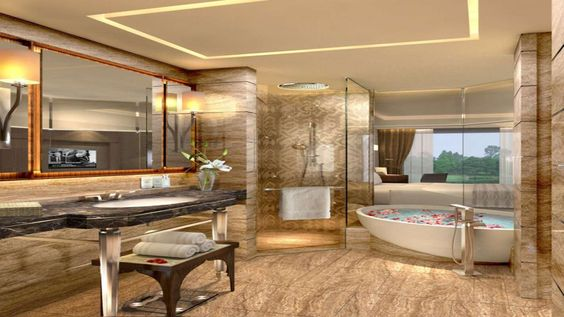 Bathroom at the Kempinski Ambience Delhi:
