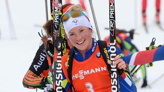 Biathlon: la Française Dorin-Habert sacrée championne du monde de la mass start