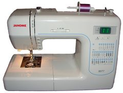 Rachel's Janome Sewing Machine :-)