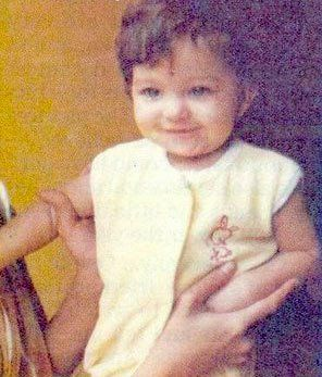 Bollywood actress and Loreal spokeswoman Aishwarya Rai baby photo  http://celebrity-childhood-photos.tumblr.com/