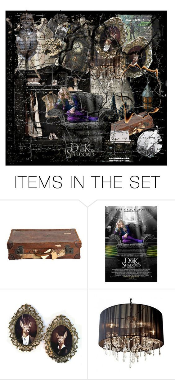 """""""the fragile world of carolyn stoddard"""" by theweasleygirl ❤ liked on Polyvore featuring art, vintage and dark shadows"""