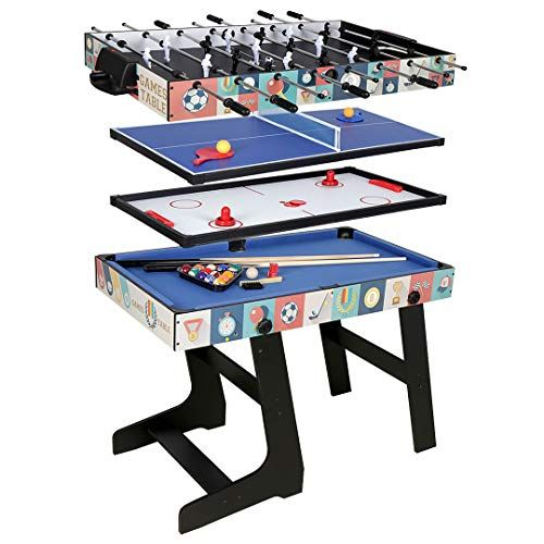 10 Best Mini Air Hockey Tables For Kids Have You Seen 4 Multi Game Table Air Hockey Table Games