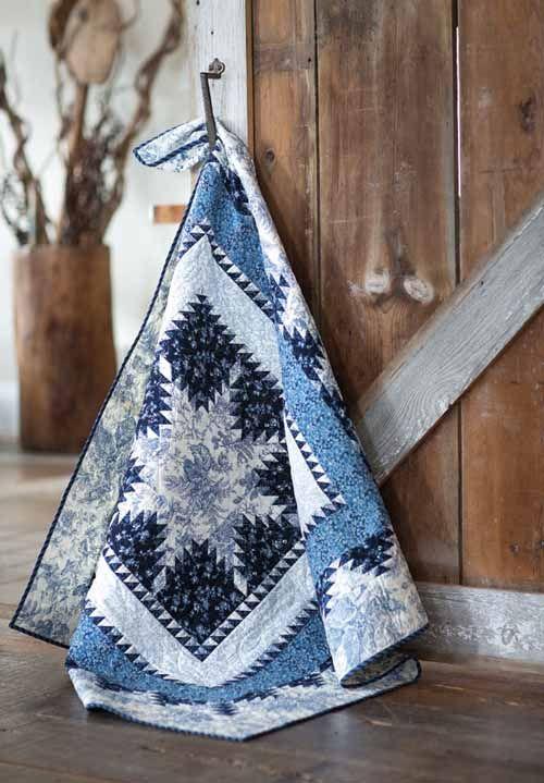 - Feathered Star Medallion Quilt Kit