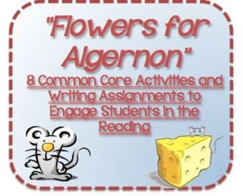 a literary analysis of flowers for algernon 11-12-2014 recognizing and understanding the use of allusions in flowers for algernon what literary techniques is keyes using frederick douglass research paper by.