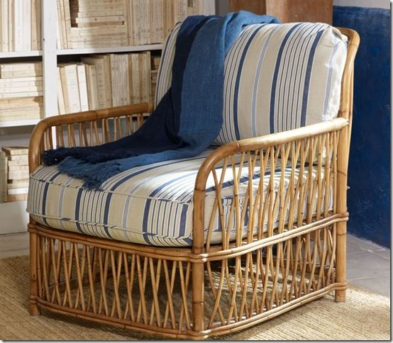 Ralph lauren antibes rattan chair british colonial for Ralph lauren outdoor furniture