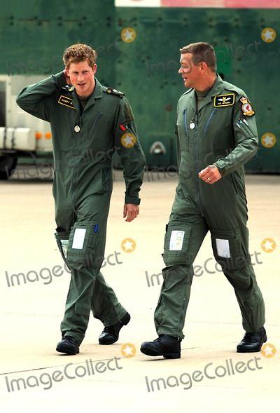 Prince Harry Prince William and Prince Harry Defence Helicopter Flying School Training-photocall-raf Shawbury (Royal Air Force), Shrewsbury , England United Kingdom 06-18-2009 Photo by Mark Chilton-richfoto-Globe Photos, Inc.