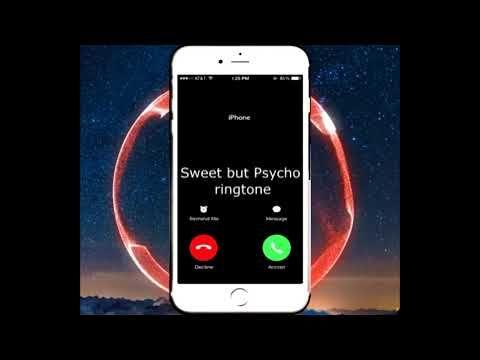 Sweet But Psycho Ringtone Ringtones Free Download Youtube Ringtone Download Samsung Galaxy Phone Youtube