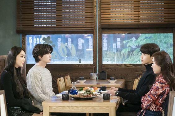 "Seo Hyun Jin, Lee Min Ki, Ahn Jae Hyun, And Lee Da Hee Go On The Most Awkward Double Date Ever In ""The Beauty Inside"""