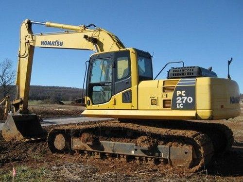 Komatsu Pc270lc 6 Hydraulic Excavator Operation Maintenance Manual Download Sn A83001 And Up Service Manuals Club Hydraulic Excavator Komatsu Excavator