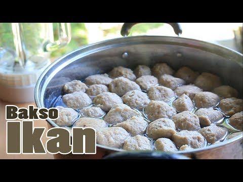 Resep Bakso Ikan Blender Kenyal Anti Gagal Tanpa Es Youtube Bakso Resep Ikan