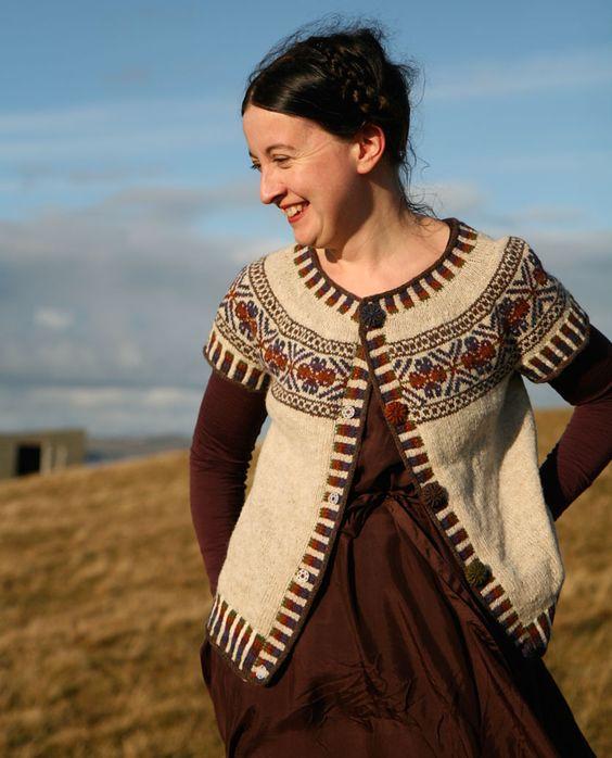 Ravelry: Scatness Tunic pattern by Kate Davies