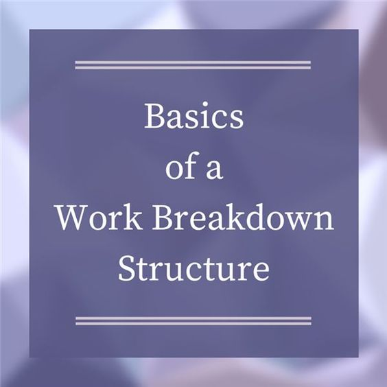 Work Breakdown Structure Templates  Project Management Templates