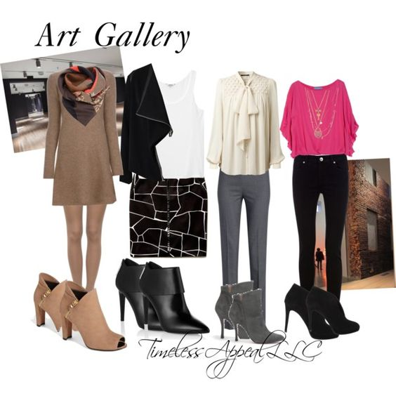 29 model Art Gallery Outfits
