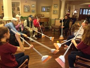 Games In Review Sunrise Senior Living Olympics A Great