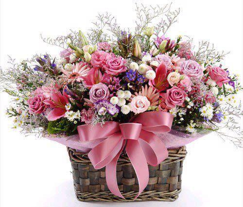 cesta de flores - Pesquisa Google:
