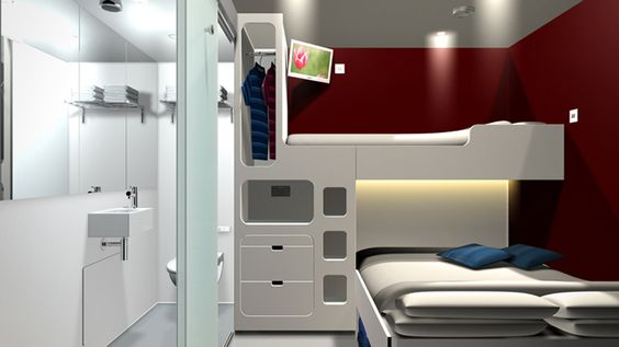 portable shipping container hotel by snoozebox