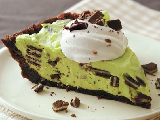 Green Goblin Pie  #iloveavocadosforhalloween