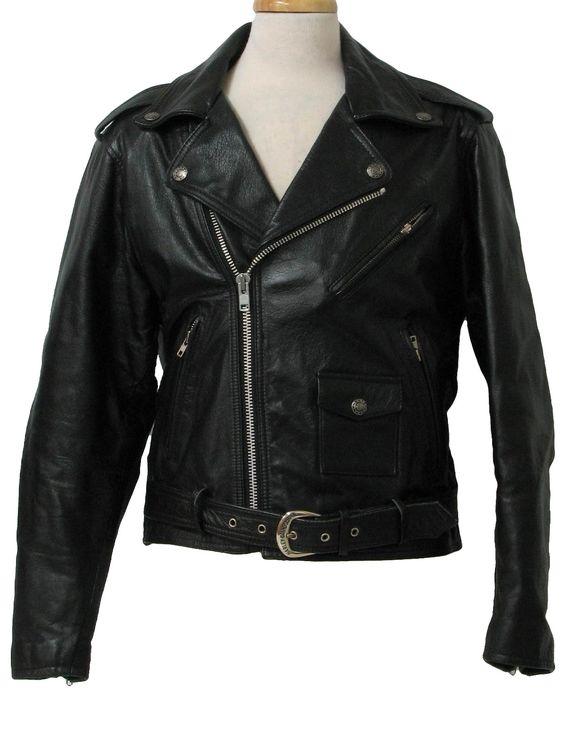 Mens Small Harley Davidson Leather Jacket