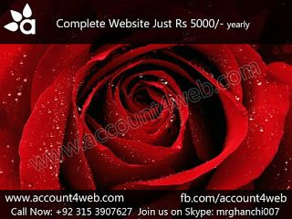 Account4WEB || Web Hosting in Pakistan.: Professional Web Designing || Account4WEB