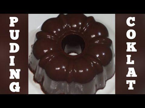 Puding Viral Cara Membuat Puding Coklat Super Lembut Youtube Puding Coklat Puding Coklat