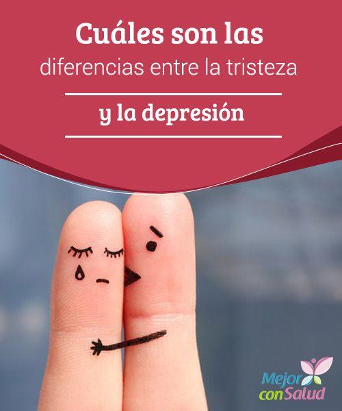 Cuáles son las diferencias entre la tristeza y la depresión  En la depresión el individuo no encuentra un motivo claro para su estado de apatía, por lo que, al desconocer el problema, no puede encontrar una solución aparente