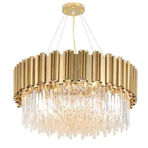 Luxury Modern Crystal High Low Ceiling Living Room Pendant Light Code Home Decor Lig Luxury Chandelier Crystal Chandelier Lighting Living Room Pendant Light