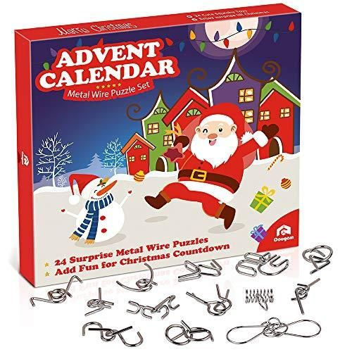 Wire Puzzle Toys Advent Calendar 2019 In 2020 Christmas