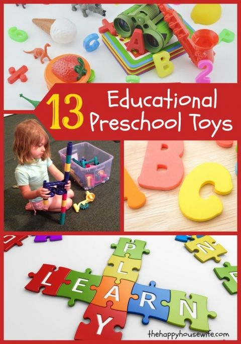 Here's a list of the best educational preschool toys. These toys will provide hours of fun for your kids while they learn. Don't let them get sucked into screen time this summer, let them learn while playing. Bonus preschool book list included too.