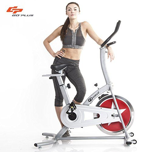 Goplus Stationary Bike Indoor Cycle Trainer Adjustable Exercise