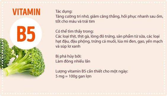 Chi tiet ve 10 loai Vitamin pho bien