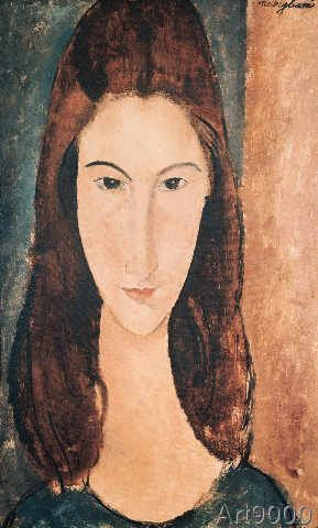 Amedeo Modigliani - Portrait of a Young Girl