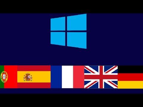 Comment Changer La Langue De Windows 10 Youtube