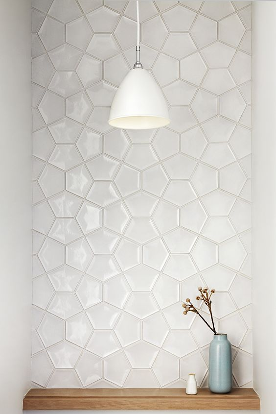 clever tile design for impact