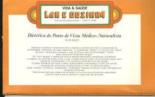 lu receitas: dieta do ponto de vista medico naturalista
