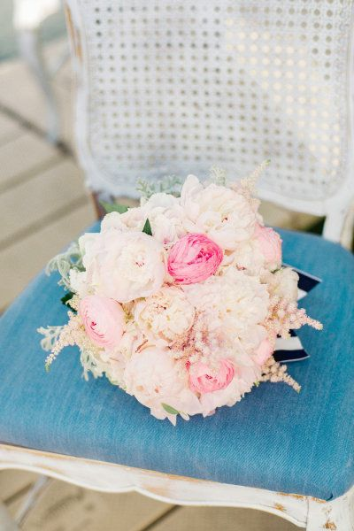 pink bouquet   Photography by jodysavagephotography.com    Floral Design by couturefleur.net     Read more - http://www.stylemepretty.com/2013/07/17/nautical-inspired-photo-shoot-from-jody-savage-photography/