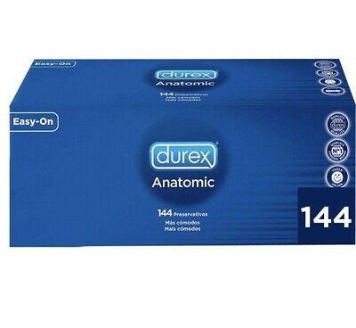 Condones Preservativos Durex Anatomic Easy On Naturales Caja De