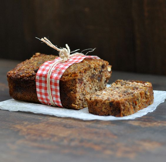 Carrot Coconut Breakfast Loaf by @AnjasFood4Thought