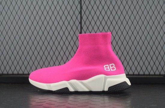 Balenciaga Speed Trainer BB Neon Pink
