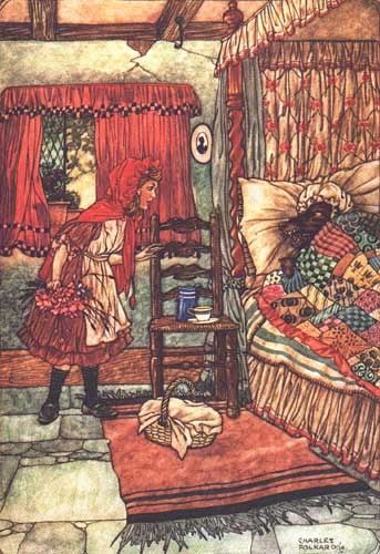 Red Riding Hood by Charles Folner (?)
