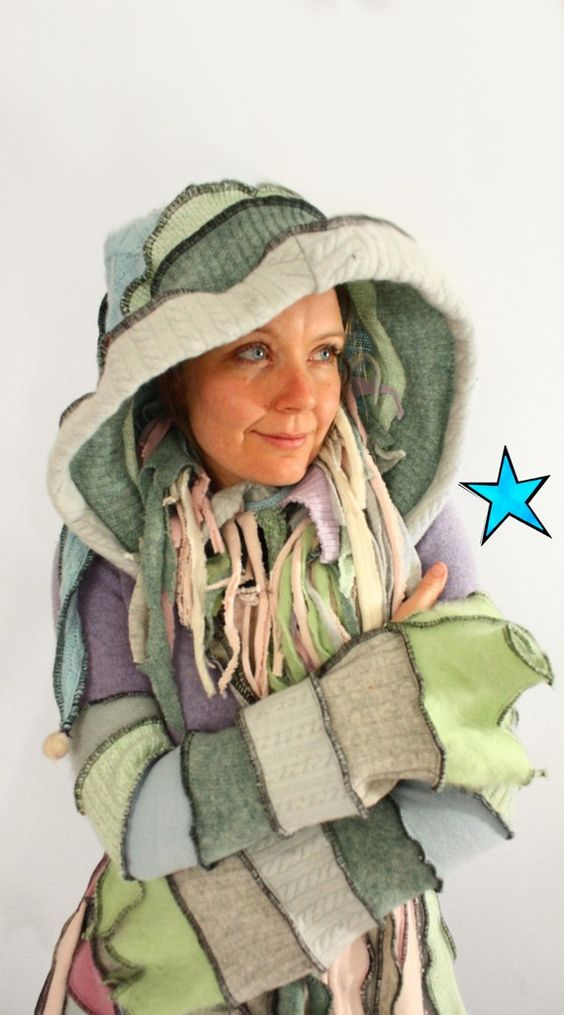 Recycled Sweater Coat TUTORIAL by Katwise - Ebook PDF | Coats