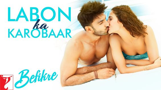 this is epic.. ahhhhmazing!!! just so PAAARISSS!!!....... Labon Ka Karobaar Song | Befikre | Ranveer Singh | Vaani Kapoor | Papon