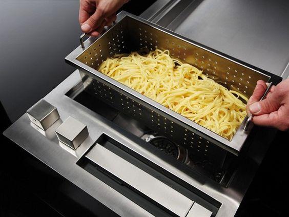 luxuriöse küchengeräte edelstahl von Glem Progetti