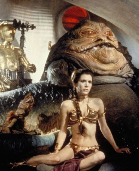 Jabba the Hutt slobbering about in the background!