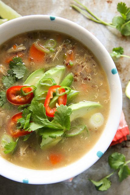 Quinoa Chicken Chili by Heather Christo