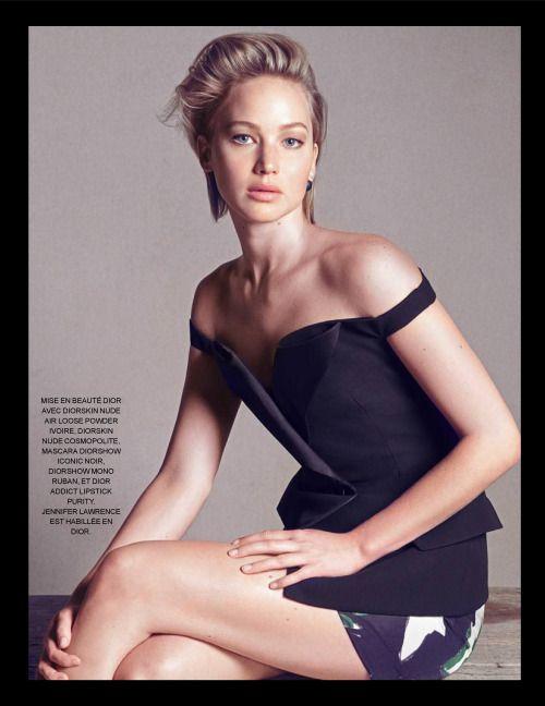 Jennifer Lawrence - Madame Figaro September 2015