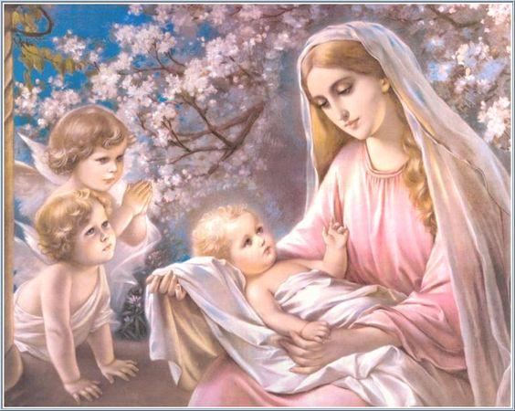 Mary, did you know, That your baby boy would someday walk on water?  That your baby boy will save our sons and daughters?