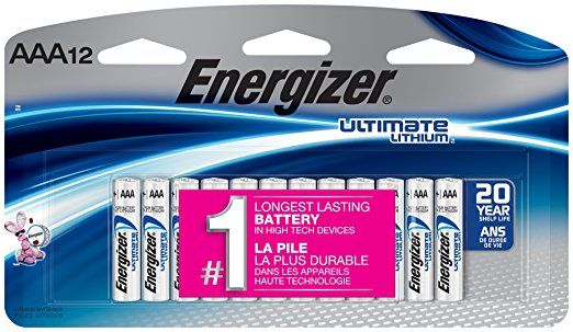 Energizer Ultimate Lithium Aaa Batteries 12 Count Energizer Aaa Batteries Batteries