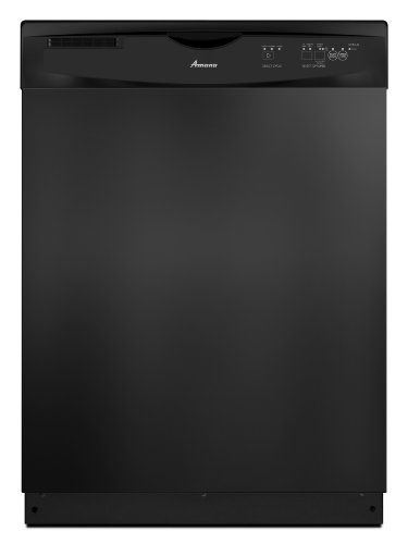 Amana Tall Tub Dishwasher, ADB1400PYB, Black ENERGY STAR qualified. Tall Tub Dishwasher. Clean Plate Wash System. Delay Start Option. Antimicrobial Component Protection.